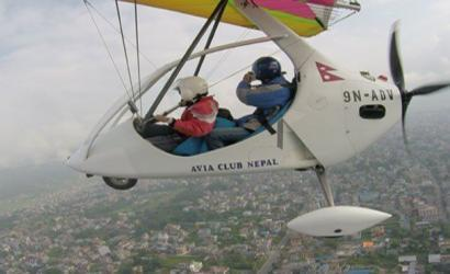 Paragliding and ultra light flight