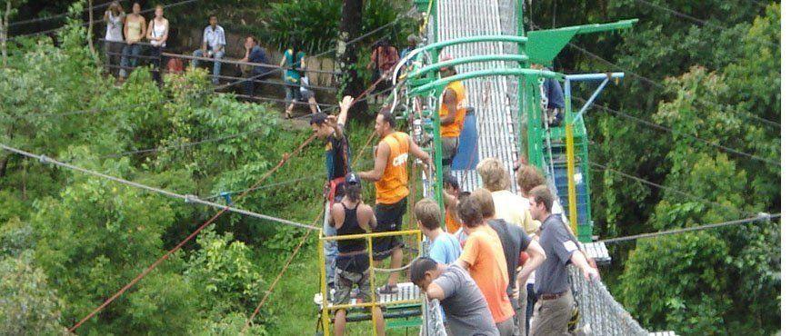 Bhotekoshi Bungee jumping